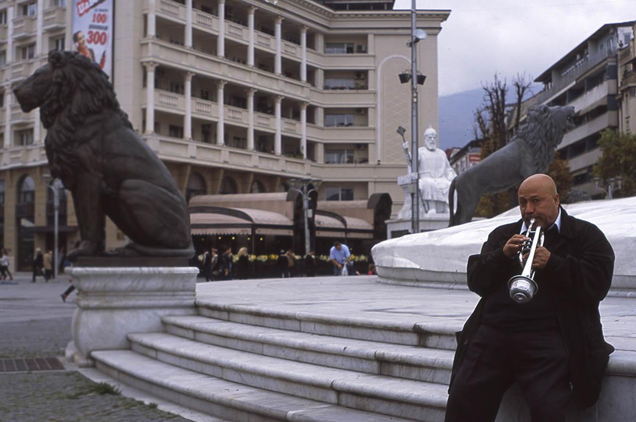 Naat Veliov, Skopje, Macédoine, 2014