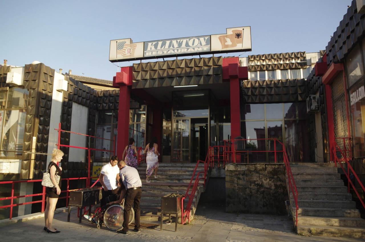 Restaurant Klinton, Prizren, Kosovo, 2011