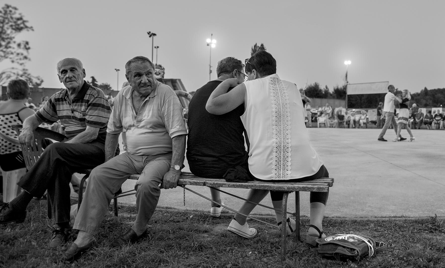 Arcore, festa della Lega Nord, 2017