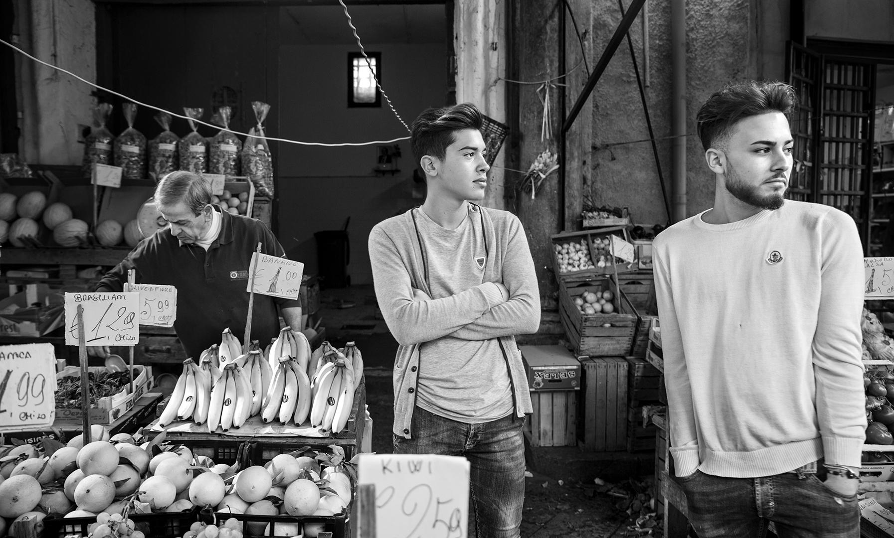 Mercato di Ballarò, Palermo, 2017