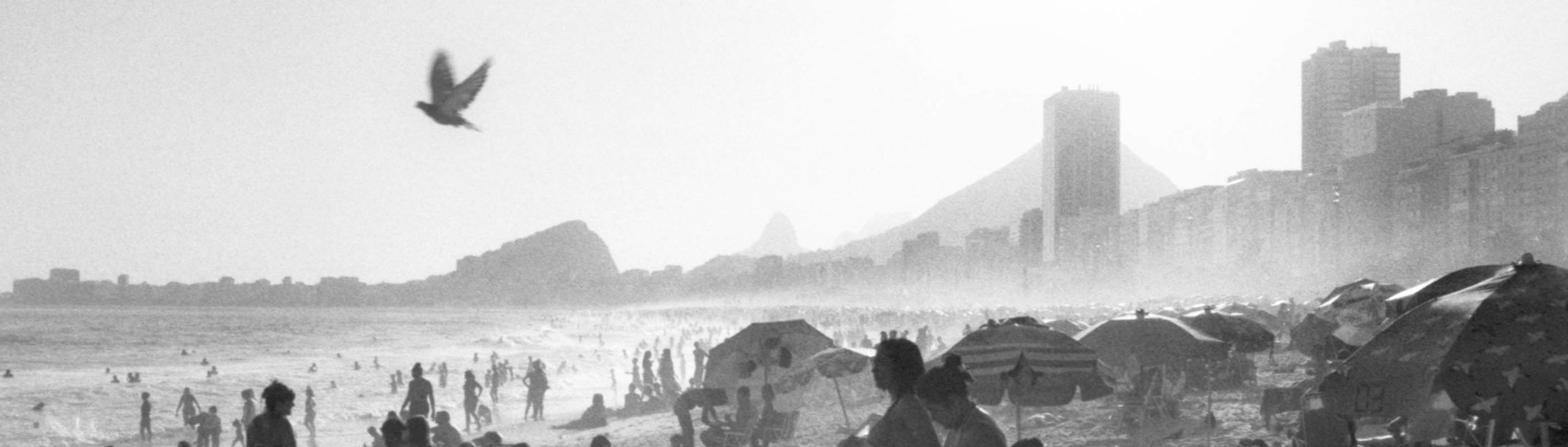 Plage de Copacabana, Rio de Janeiro, 2016