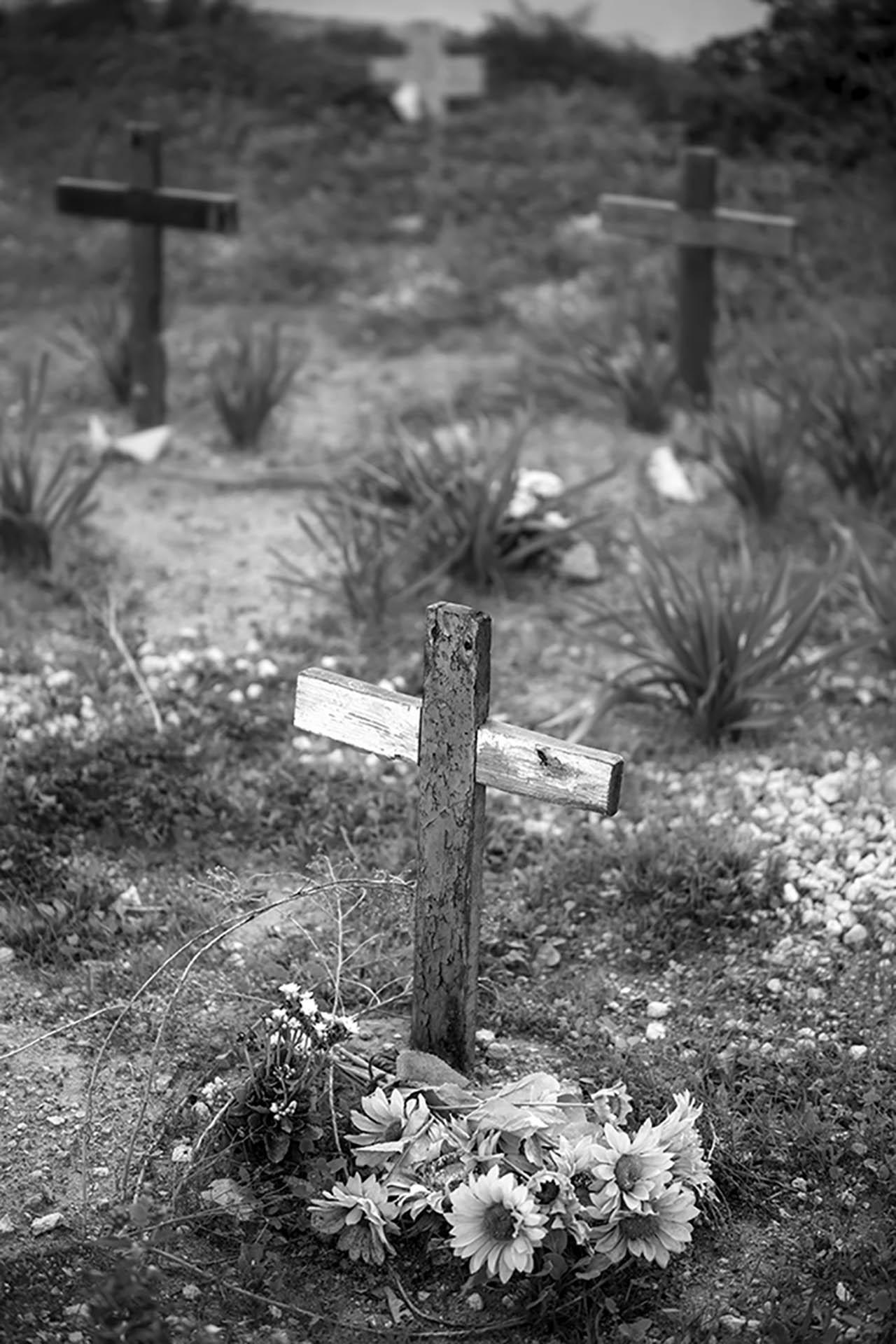 Lampedusa, cimitero di Cala Pisana, 2017