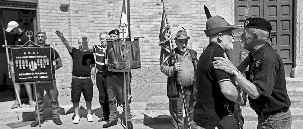 Predappio, nostalgici fascisti, 2017